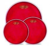 Evans Epp Hruv1 S Davul Deri Seti Hydraulic Red Standard Pack