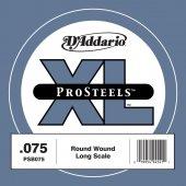 Daddario Psb075 Single Prosteels Tek Bas Gitar Teli (075 La)