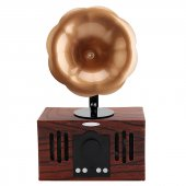Nostaljik Mini Radyo B8 Gramofon Bluetooth Radyo Speaker