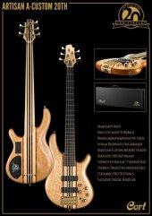 Cort A4 Custom 20thnat 4 Telli Bas Gitar