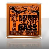 Ernie Ball P02838 Slinky Nickel 32 130 (6 Telli) Bas Gitar Teli