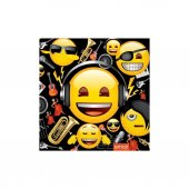 Peçete Genç Emoji 33x33 20 Adetli Roll Up