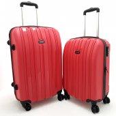 Tutqn 2'li Valiz Set Kırmızı