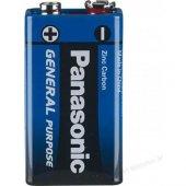 Panasonic 9 V Pil 2 Adet