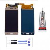 Samsung Galaxy J5 510 Lcd Dokunmatik Ekran Gold + Montaj Seti