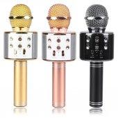 Wster Ws 858 Bluetooth Karaoke Mikrofon