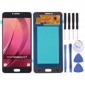 Samsung Galaxy C7 Pro C7010 Lcd Ekran Dokunmatik Servis