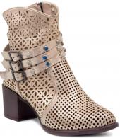 Mammamia D19ya 4510 Bej Bayan Ayakkabı Bayan Klasik