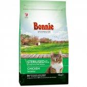 Bonnie Tavuklu Kısırlaştırılmış Kedi Maması 15 Kg