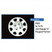 Jant Kapagı 14 (Partner Peugeot) Takım 206 Ve Partner 5416.93