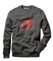 Tshirthane Thundercats Logo Erkek Uzun Kollu Sweatshirt
