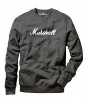 Tshirthane Marshall Logo Erkek Uzun Kollu Sweatshirt