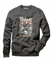 Tshirthane Slipknot Rock Metal Erkek Uzun Kollu Sweatshirt