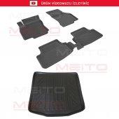 Sahler 4,5d Siyah Audi A3 Paspas 3d Bagaj Havuzu 2013 2018 Set