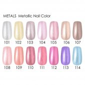 Golden Rose Metals Metallic Nail Color 104 Metallic Oje