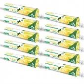 Ilka Plast Büzgülü Orta Boy Limon Kokulu Çöp Torbası 55x60 10 Rulo Set