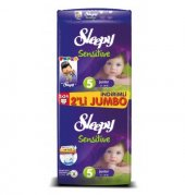 Sleepy 2li Jumbo No 5 11 18kg 48li Sensitive Bebek Bezi