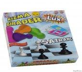 Satranç Kızma Birader Eğlenceli Eğitici Zeka Ve Gelişim Oyunu