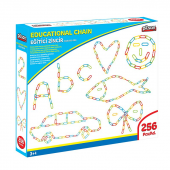 Eğitici Zincir Lego Oyun Seti 256pcs