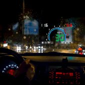 Sanal Gösterge Paneli Head Up Display