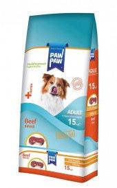 Paw Paw Biftekli Yetişkin Köpek Maması 15 Kg