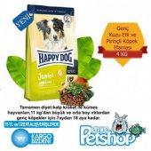 Happy Dog Junior Kuzu Etli Pirincli Kopek Maması 4kg