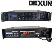 Dexun D 450 450 W 100v 70v 4,16 Ohm Usb Sd 6 Bölgeli 3 Mik 3 Aux