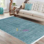 Sanat Halı Yalın 1414 Mavi Halı 200x290 Cm Yeni Ürün