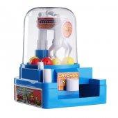 Mini Vinç Şeker Top Tutma Makinesi Oyuncak Kumbara Makinesi