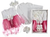 Mevlitlik Elbise Kız Bebek 3 Ay Luz Kalite
