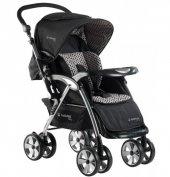 Hattrıck Bco 208 Optima Çift Yönlü Bebek Arabası Siyah&kırmızı