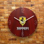 Fmc1158 Tasarımlı Mdf Ahşap Duvar Saati 39cm