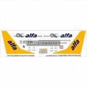 Dat01028 1 144 Air Alfa 737 400 Dekal Çıkartma