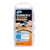 Duracell Activair 675 Kulaklık Cihazı Pili 6lı