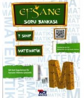Açı Yayınları 7. Sınıf Matematik Efsane Soru Bankası 2018