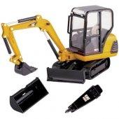 55085 1 32 Cat 302.5 Mini Hydraulic Excavator
