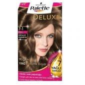Palette Deluxe 7 1 Küllü Kumral Saç Boyası