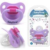 Babytime Silikon Mat Gövdeli Damaklı Emzik N.2 6 1...