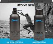 Slazenger Active Sport Mavi 125 Ml Erkek Parfüm + 150 Ml Deodorant Set