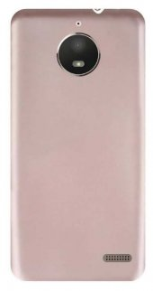 Motorola Moto E4 Kılıf Silikon Soft Premier Rose Gold