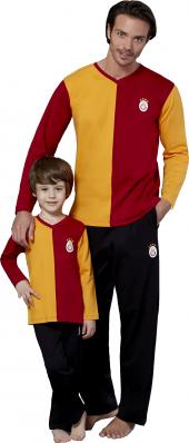 Galatasaray Baba Oğul Eşofman Takımı 100 Gsstore Lisanslı