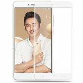 Xiaomi Redmi S2 Tam Kaplayan Çerçeveli Kırılmaz Cam Beyaz