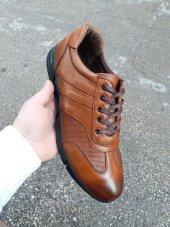 New Prato Erkek Ayakkabı 016 Açık Taba Deri