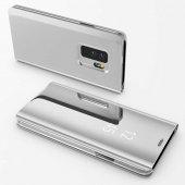 Samsung Galaxy S9 Plus Kılıf Lopard Clear View Flip Cover Kapak A