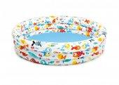 çocuk Yüzme Havuzu Intex 132x28cm Akvaryum Desenli