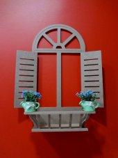 Ahşap Panjur Dekoratif Panjur Pencere Model (Dekoratif Ve Şık)