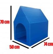 Köpek Kulübesi Büyük Dış Mekan Köpek Yuvası 70*74*50 Cm