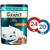 Gourmet Perle Izgara Ton Balık Kedi Konserve 85 Gr (24 Al 20 Öde