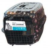 Kedi Köpek Taşıma Çantası Kuru Kafa Desenli 58*40*...