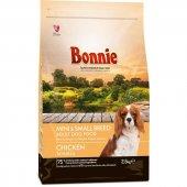 Bonnie Tavuklu Küçük Irk Yetişkin Köpek Maması 2.5 Kg